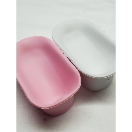 PINK AND WHITE DIPPING  (SET OF 2)