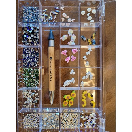 3d COLLECTION & CRYSTAL BOX