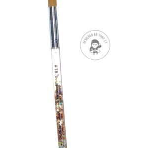 Size 18 Acrylic Brush (Aqua...