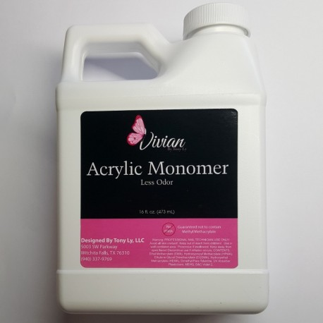 ACRYLIC LIQUID – 16 oz (Less Odor)